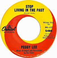 Cover Peggy Lee - Stop Living In The Past