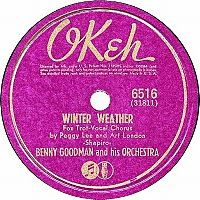Cover Peggy Lee & Art Lund with Benny Goodman And His Orchestra - Winter Weather