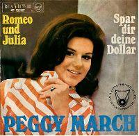 Cover Peggy March - Romeo und Julia