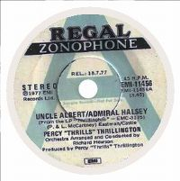 "Cover Percy ""Thrills"" Thrillington - Uncle Albert / Admiral Halsey"
