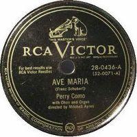 Cover Perry Como - Ave Maria