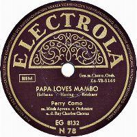 Cover Perry Como - Papa Loves Mambo