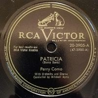 Cover Perry Como - Patricia
