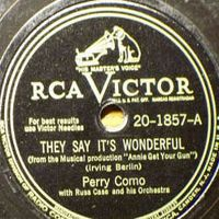 Cover Perry Como - They Say It's Wonderful