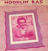 Cover Perry Como & The Fontane Sisters - Noodlin' Rag