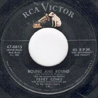 Cover Perry Como with Mitchell Ayres' Orchestra and The Ray Charles Singers - Round And Round
