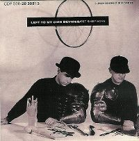 Cover Pet Shop Boys - Left To My Own Devices