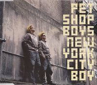 Cover Pet Shop Boys - New York City Boy