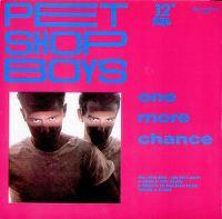 Cover Pet Shop Boys - One More Chance (Original Version 1984)