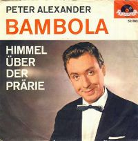 Cover Peter Alexander - Bambola