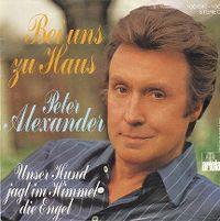 Cover Peter Alexander - Bei uns zu Haus