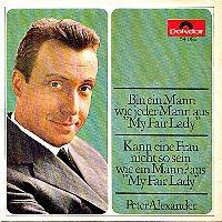 Cover Peter Alexander - Bin ein Mann wie jeder Mann