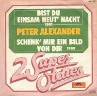 Cover Peter Alexander - Bist du einsam heut' nacht?