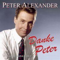 Cover Peter Alexander - Danke Peter - 50 seiner schönsten Lieder