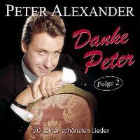 Cover Peter Alexander - Danke Peter - Folge 2