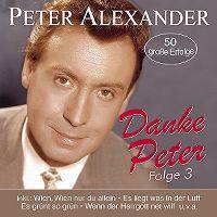 Cover Peter Alexander - Danke Peter - Folge 3
