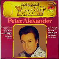 Cover Peter Alexander - Das große Wunschkonzert