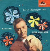 Cover Peter Alexander - Das ist alles längst vorbei