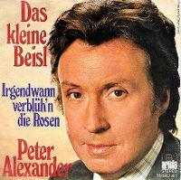 Cover Peter Alexander - Das kleine Beisl