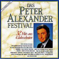 Cover Peter Alexander - Das Peter Alexander Festival - 32 Hits aus 4 Jahrzehnten