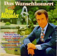 Cover Peter Alexander - Das Wunschkonzert
