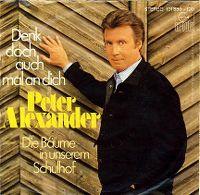 Cover Peter Alexander - Denk doch auch mal an dich