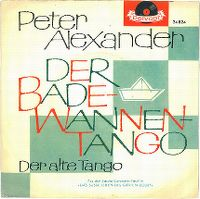 Cover Peter Alexander - Der Badewannen-Tango