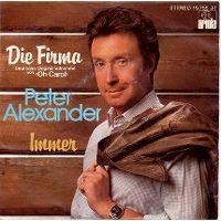 Cover Peter Alexander - Die Firma