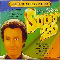 Cover Peter Alexander - Die Goldenen Super 20