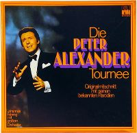 Cover Peter Alexander - Die Peter Alexander Tournee