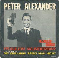 Cover Peter Alexander - Fräulein Wunderbar