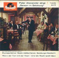 Cover Peter Alexander - Fremdenführer