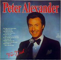 Cover Peter Alexander - Für dich