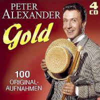 Cover Peter Alexander - Gold - 100 Originalaufnahmen