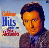 Cover Peter Alexander - Goldene Hits neu serviert von Peter Alexander