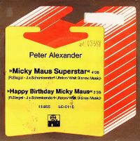 Cover Peter Alexander - Happy Birthday Micky Maus