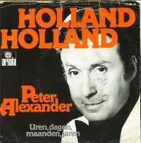 Cover Peter Alexander - Holland, Holland