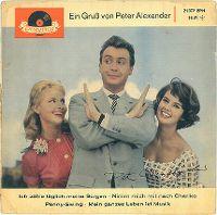Cover Peter Alexander - Ich zähle täglich meine Sorgen