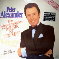 """Cover Peter Alexander - Ihre Wunschmelodien aus """"Musik ist Trumpf"""""""