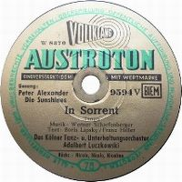Cover Peter Alexander - In Sorrent