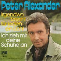 Cover Peter Alexander - Irgendwo brennt für jeden ein Licht