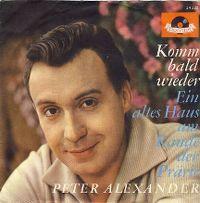 Cover Peter Alexander - Komm bald wieder