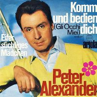 Cover Peter Alexander - Komm und bedien dich