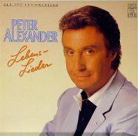 Cover Peter Alexander - Lebenslieder