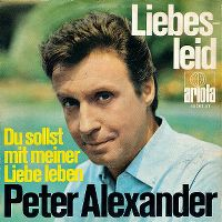 Cover Peter Alexander - Liebesleid