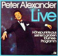 Cover Peter Alexander - Live