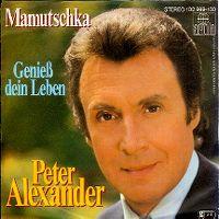 Cover Peter Alexander - Mamutschka
