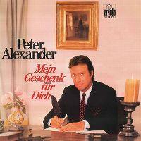 Cover Peter Alexander - Mein Geschenk für dich