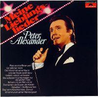 Cover Peter Alexander - Meine Lieblingslieder