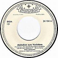 Cover Peter Alexander - Melodien zum Verlieben